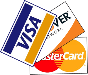 Plumb Time Accepts Credit Cards