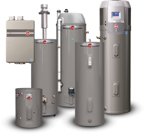 Rheem Water Heaters - Plumbing Columbia SC